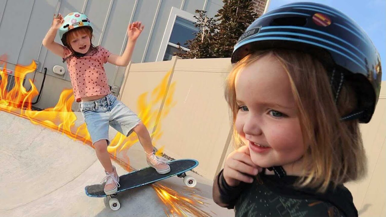 SKATE TRiCKS with Adley & Niko!! we made Skateboards for YOU!  shred sesh in the backyard skate park