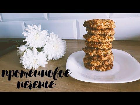 рецепт протеинового печенья | пп рецепт