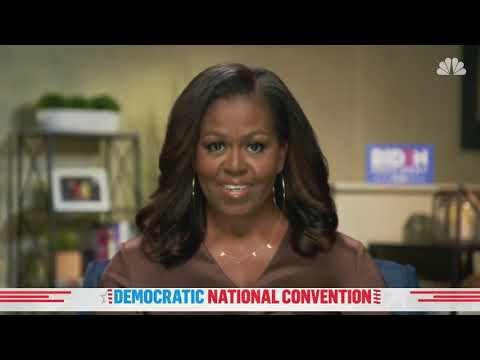 Watch Michelle Obama's Full Speech At The 2020 DNC NBC News