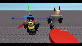 ROBLOX STUDIOS HEAD AND MASK (Batman)