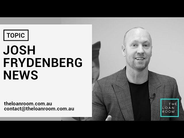 Josh Frydenberg UPDATE on property market