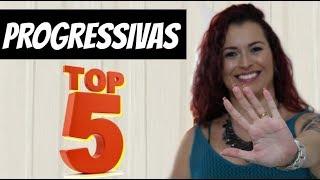 TOP 5 MELHORES PROGRESSIVAS ATUALIZADO