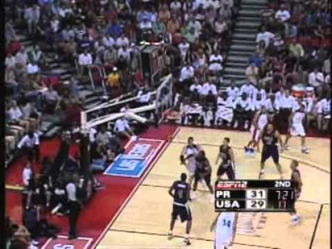 USA Dream Team vs. Puerto Rico (FIBA 2006)