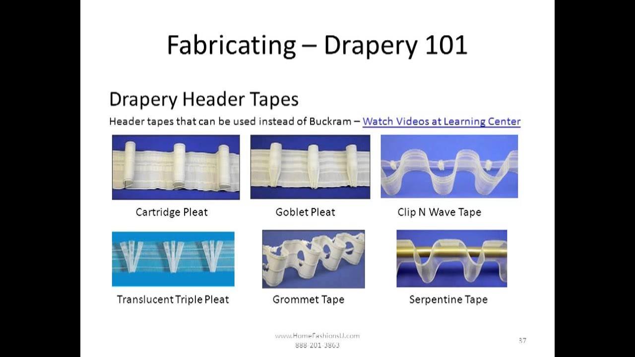Drapery 101 How To Fabricate Drapery Panels Funnydog Tv