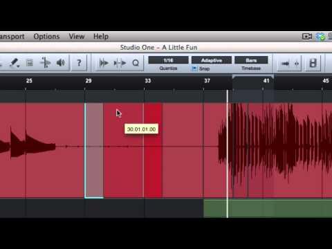 Joe Gilder's Studio One Tutorial Series Episode 41: Grid Modes