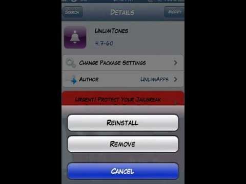 How to get Free ringtones on cydia!!!