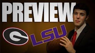 2019 Georgia vs LSU College Football Preview | SEC Championship