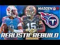 Rebuilding The Tennessee Titans | Marcus Mariota Plays Like Oregon Mariota | Madden 18 Franchise