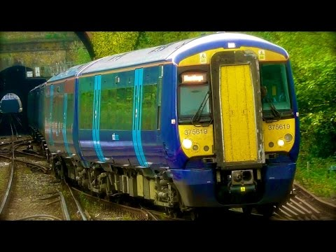 Southern & Southeastern Trains At Hastings - Monday 24th April 2017