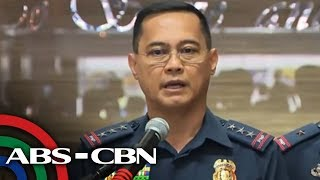 PNP holds press briefing with OIC Lt. Gen. Archie Gamboa