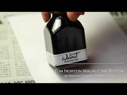 Tom Norton Walnut Ink Review by Master Penman Connie Chen