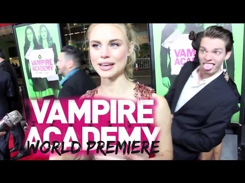 Vampire Academy Premiere - Mark Waters, Lucy Fry, Sarah Hyland, Dominic Sherwood, and MORE