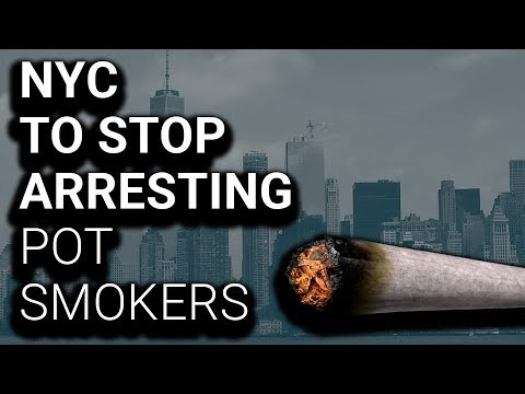 NYC Mayor to Police: Stop ALL Pot Smoking Arrests