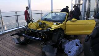 2015 Ford Mustang Construction on Burj Khalifa Time Lapse