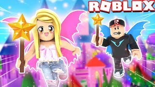 ZOSTAAM WR-KÔ W ROBLOX?! 🧚 (Roblox Fairy World) Bella i Vito