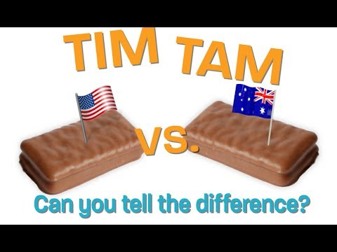 Tim Tams:  USA V. Australia! Do They Taste The Same?