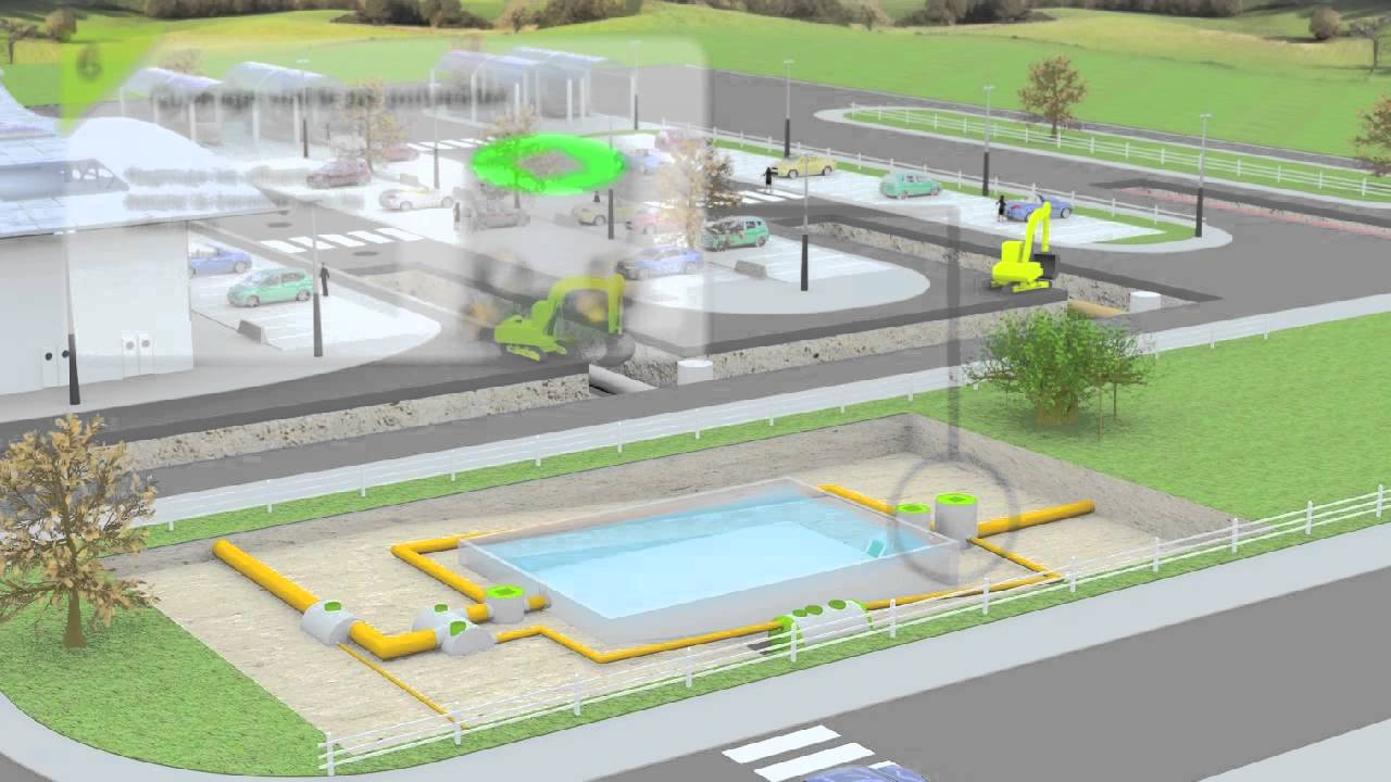 Equipements de bassins de r tention youtube - Creer un bassin d ornement avignon ...
