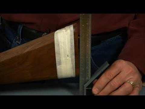 Gunsmithing - How to Shorten a Stock to Change the Length of Pull
