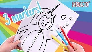 3 MARKER CHALLENGE en Directo con TikTak Draw