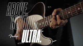Tomoyasu Hotei Plays The American Ultra Telecaster   American Ultra Series   Fender