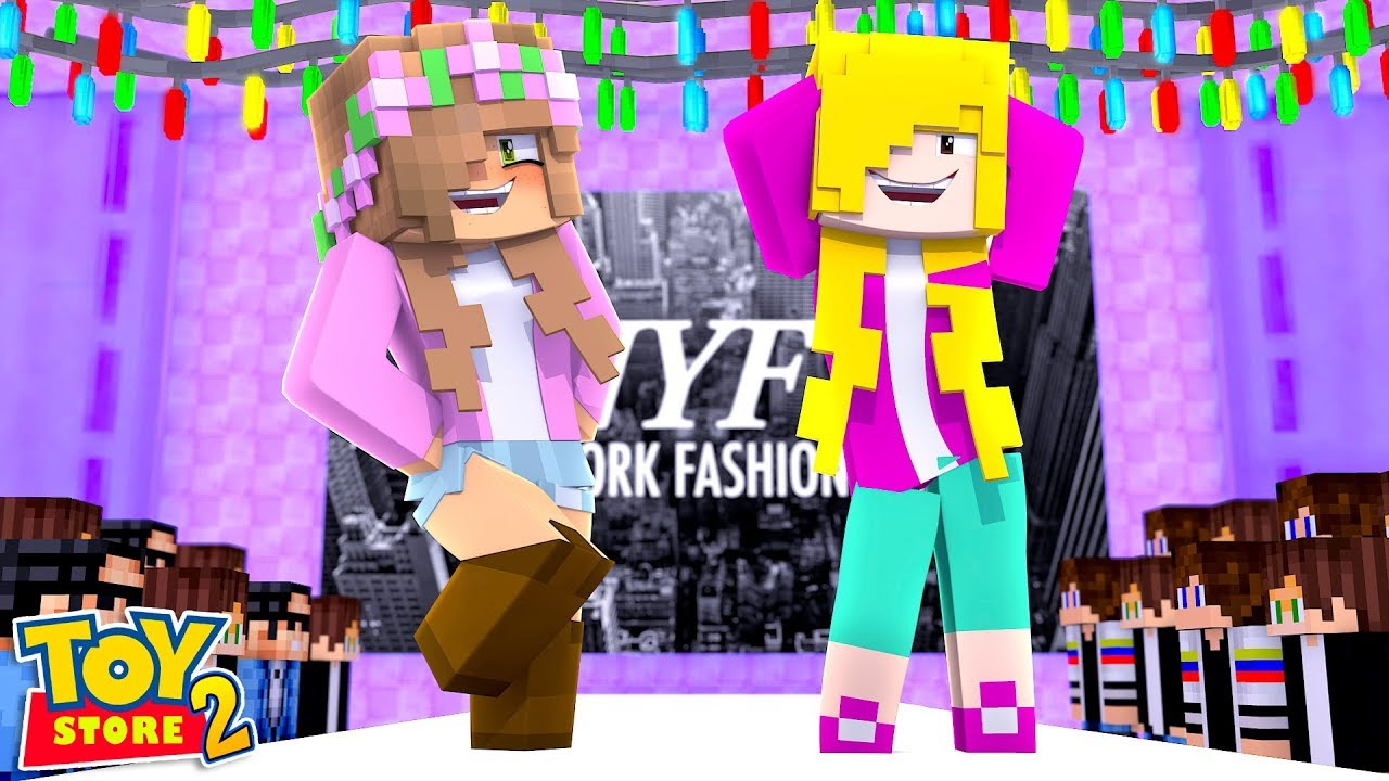 Expo Exhibition Stands Jojo : Jojo siwa little kelly have a fashion show minecraft