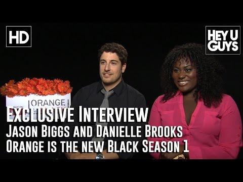 Jason Biggs & Danielle Brooks (Tasty) - Orange is the New Black Exclusive Interview