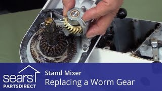 Replacing a Worm Gear in a Stand Mixer