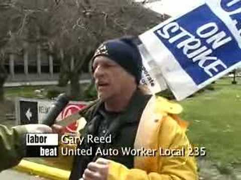 Labor Beat: American Axle Strike -- Workers Drawing The Line