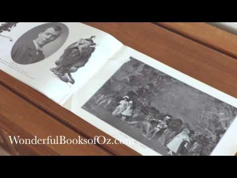 1903 Wizard of Oz Stageplay Souvenir Photo Book