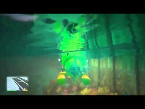 GTA V | Sumergible (Submersible) | PS4