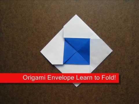 How To Fold Origami Square Envelope Origamiinstruction Youtube