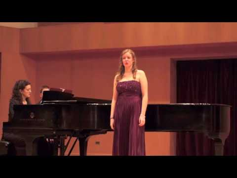 Senior Recital - Emily Young - Mezzo Soprano