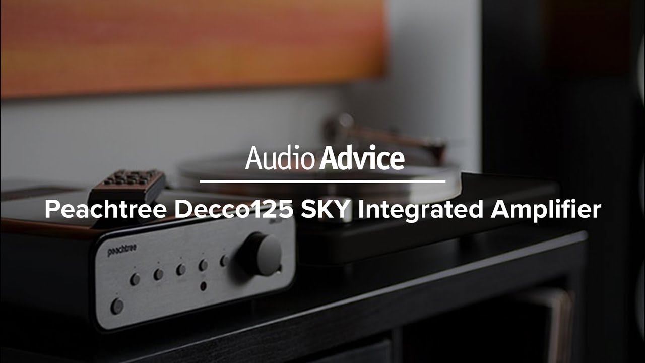 Peachtree decco125 SKY Integrated Amplifier Review | Audio