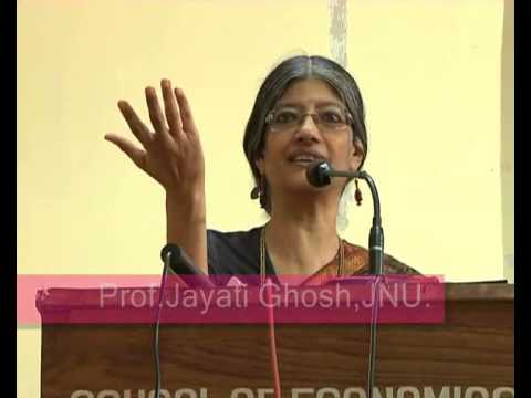 world's Leading Economist ! Prof.Jayati Ghosh ! Economic Studies ! Lecture