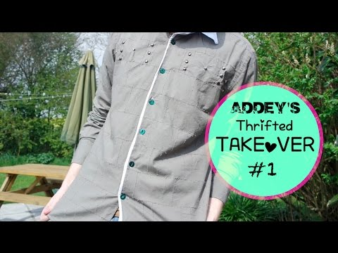 Thrifted Takeover & Upcycle #1 (Before & After)