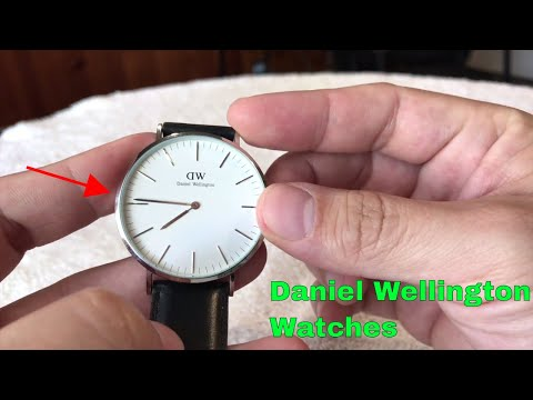 ✅ How To Use Daniel Wellington Sheffield Watch Review