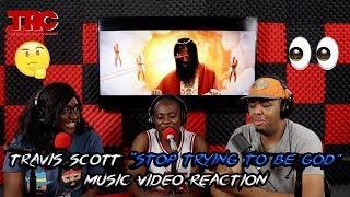 "Travis Scott ""Stop Trying To Be God"" Music Video Reaction"