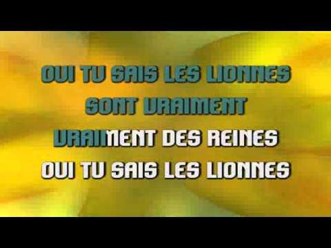 Les lionnes - Yannick Noah (karaoke)