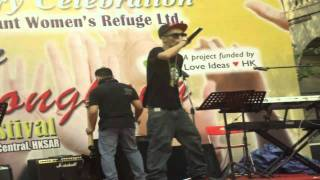 EAZY of PINOY WIT ATTITUDE @ Chater Garden (911) 2011