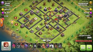 Clash of Clans TH9 Push to Legends League #1   babyloon   TH9 vs TH11