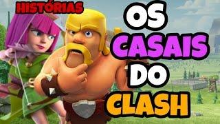 Os 3 Melhores Casais do Clash Royale e Clash Of Clans - História