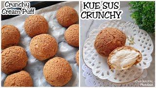 Kue Sus Crunchy   Choux Au Craquelin   Cream Puffs