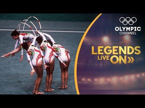 The Spanish Rhythmic Gymnastics team that won the world | Legends Live On