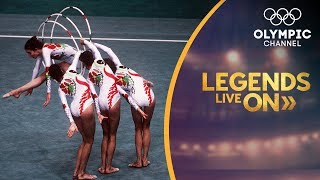 The Spanish Rhythmic Gymnastics team that won the world | Legends Live On