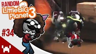 Zombie Survival! - Little Big Planet 3: Random Multiplayer - Ep. 34