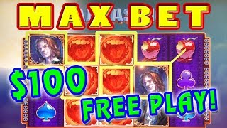 HOW MUCH DID I PROFIT? ★ $100 IN FREE PLAY ★ MAX BET BONUSES ➜ VAMPIRES EMBRACE