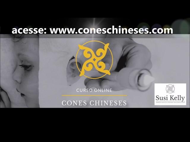 apresentação do curso Online Cones Chineses® em Vidro