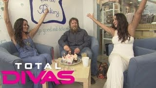 Brie and Nikki Bella celebrate Daniel Bryan's birthday: Total Divas bonus clip, August 25, 2013
