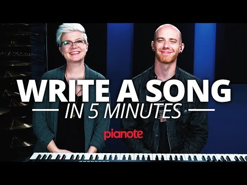 How To Write A Song In 5 Minutes On The Piano