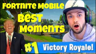 Fortnite Mobile Best/Funny Moments